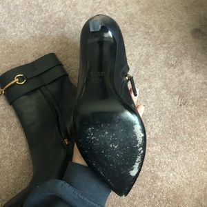 Gucci Shoes - Gucci Horsebit Black Boots (gently used)
